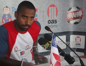 Coelho Bahia motivado (Foto: Raphael Carneiro/Globoesporte.com)