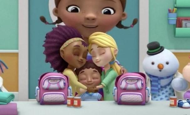 Disney apresenta mães lésbicas (Foto: reprodução do desenho Doc McStuffins)