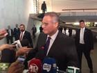 Renan diz ter 'orgulho' de presidir Congresso com Cármen Lúcia no STF