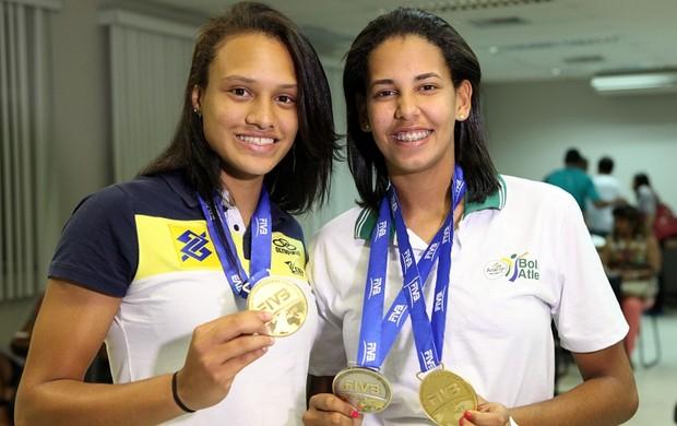Dupla é homenageada em Aracaju (Foto: Divulgação/Sejesp)