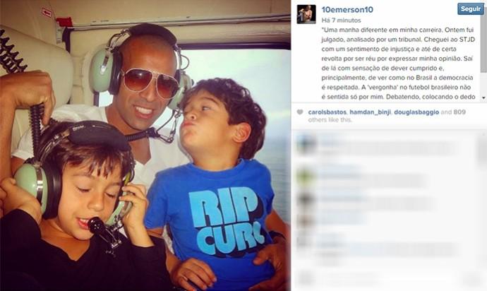 Emerson Sheik Instagram (Foto: Reprodução / Instagram)