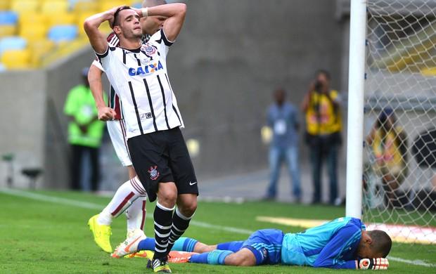 Renato Augusto, Fluminense X Corinthians (Foto: Andre Durão)