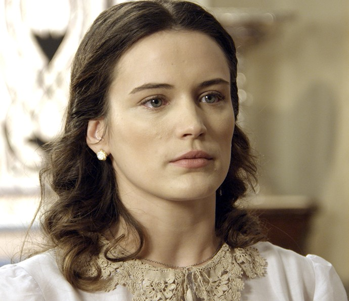 Maria joga verdades na cara de Sandra (Foto: TV Globo)