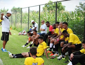 João Batista técnico Rio Branco-SP (Foto: Sanderson Barbarini / Foco no Esporte)