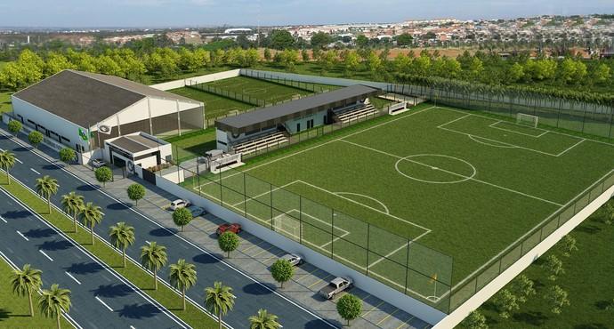 Novo Centro de Treinamento em Uberlândia será homologado pela FIFA (Foto: Divulgação)