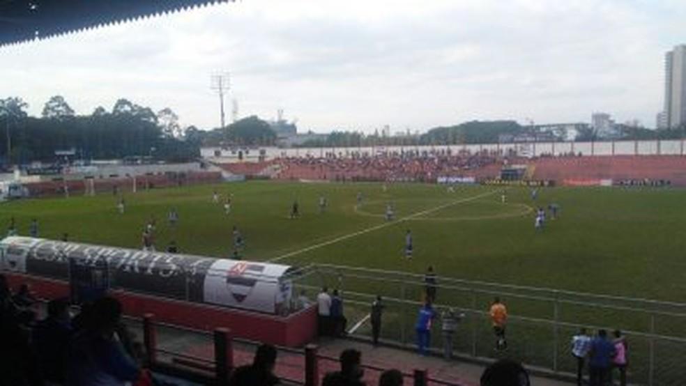 Nacional e Portuguesa ficaram no empate em 0 a 0 (Foto: Divulgação)