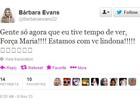 Bárbara Evans manda mensagem de apoio à ex-BBB Maria
