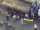 Pelo menos duas pessoas ficam feridas num acidente em Niterói, RJ