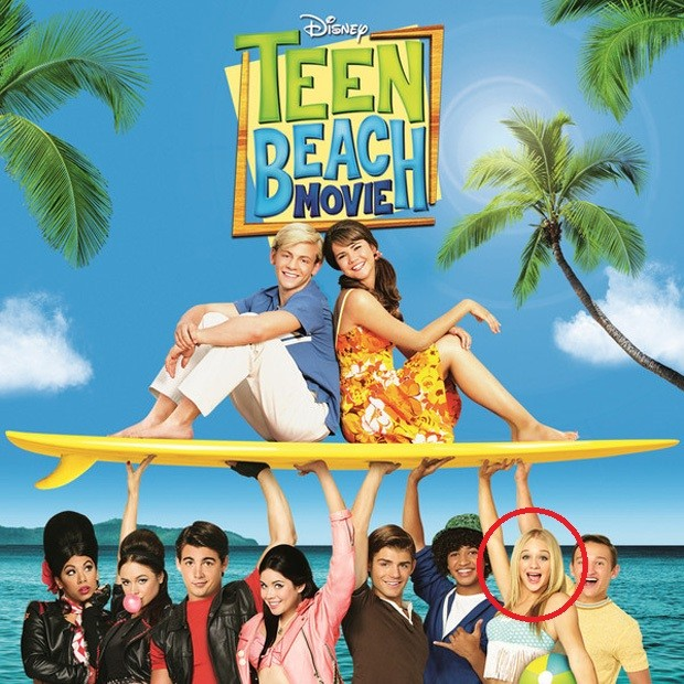 Mollee Gray em Teen Beach (Foto: Reprodução)