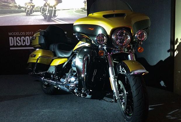Harley-Davidon Ultra Limited 2017 (Foto: Rafael Miotto/G1)