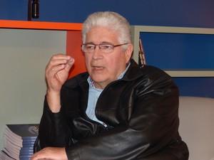 Roberto Requiça criticou a gestão atual do Governo do Paraná (Foto: Samuel Nunes/G1)