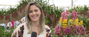 Programa desembarcou em uma feira de flores! Teve cultivo de plantas, moda e piquenique (Reprodução / TV Diário)