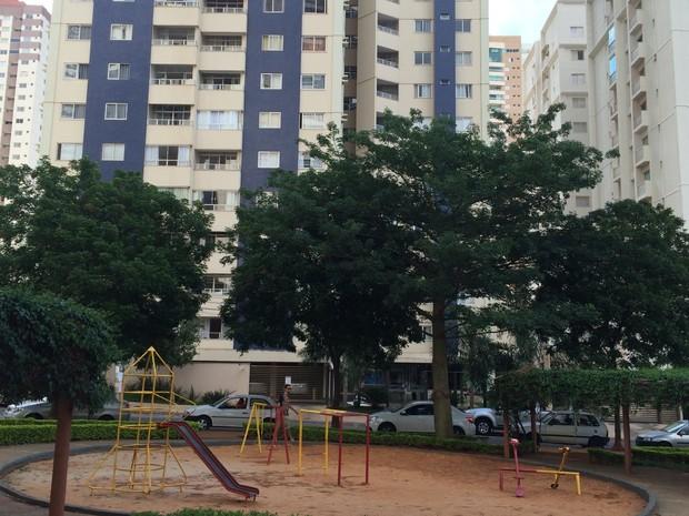 Imóveis próximos a praças e parques podem custar 20% mais em Goiânia, Goiás (Foto: Vitor Santana/G1)