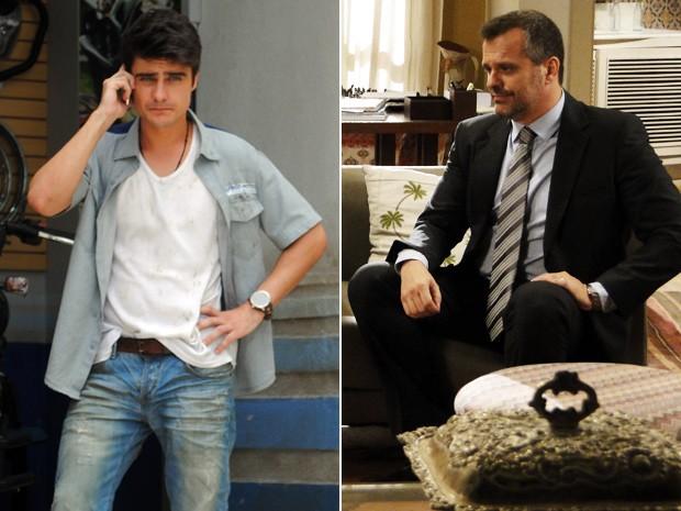 Olavo liga para Vitor e pede que o rapaz o ajude com o caso (Foto: Malhação  / TV Globo)