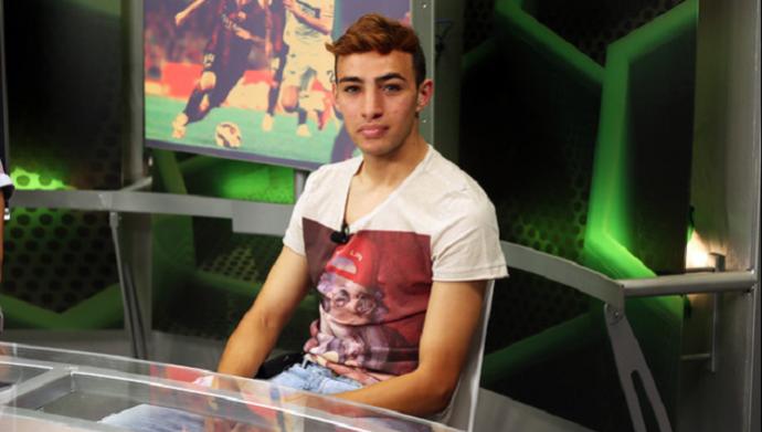 Munir, jovem atacante do Barcelona (Foto: Miguel Ruiz / Barcelona)