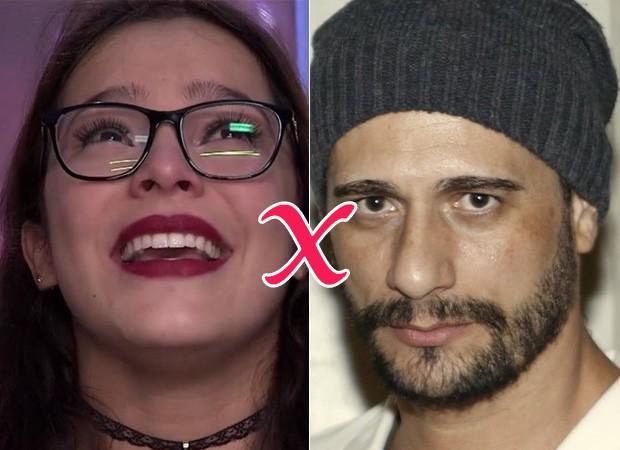 Emily e Daniel do BBB 17 (Foto: Reprodução/Globo - Marcos Serra Lima/EGO)