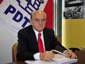 Manoel Dias,atual secretário-geral do PDT, participou da fundação do partido (Foto: Renato Araujo/ABr)