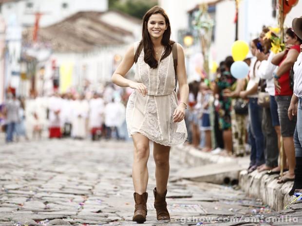 Bruna Marquezine vai esbanjar charme com os vestinhos de Helena na 2ª fase (Foto: Inácio Moraes/TV Globo)