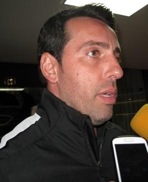 Edu Gaspar, gerente do Corinthians (Foto: Rodrigo Faber / globoesporte.com)