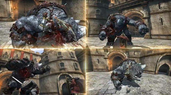 Dragon's Dogma Online trará combates com times de quatro personagens (Foto: Reprodução/YouTube) (Foto: Dragon's Dogma Online trará combates com times de quatro personagens (Foto: Reprodução/YouTube))