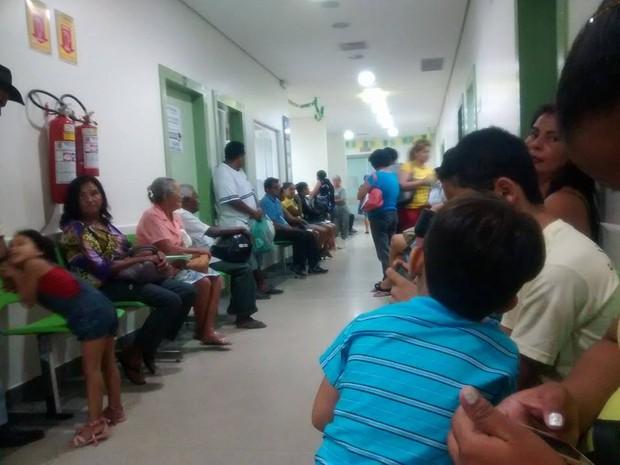 Falta de médico Rio Branco (Foto: Arquivo pessoal)