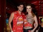 Fernanda e André na Sapucaí: 'Brasil inteiro pergunta quando vamos casar'