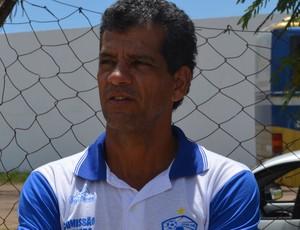 Washington Lobo, Treino do Atlético de Cajazeiras, na Maravilha do Contorno, em João Pessoa (Foto: Amauri Aquino / GloboEsporte.com/pb)
