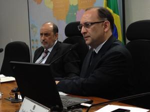 Sessão da Comissão de Juristas responsável pelo novo Código Penal  (Foto: Mariana Zoccoli / G1)