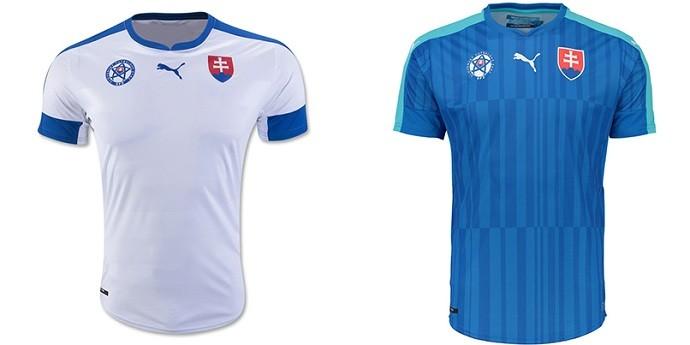 Camisas Eurocopa eslovaquia