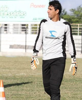 Beto, goleiro do Treze (Foto: Magnus Menezes / Jornal da Paraíba)