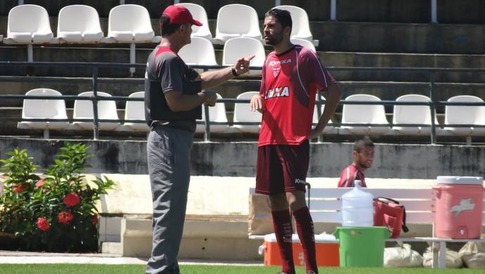 Gerson Magrão e Mazola  (Foto: Leonardo Freire/GloboEsporte.com)