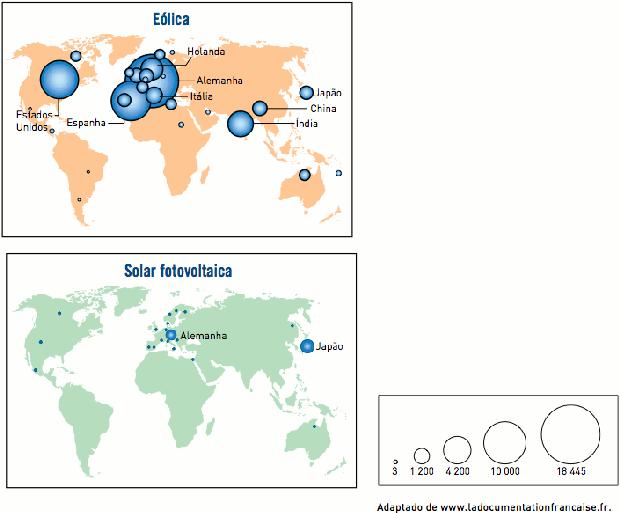 Gráfico sobre produção de energia (Foto: Reprodução/UERJ)