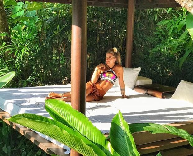 Gabriela Pugliesi curte férias em hotel deslumbrante em Bali (Foto: Reprodução)