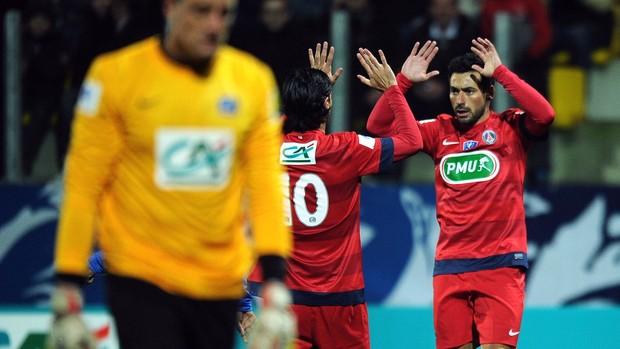 lavezzi psg gol arras (Foto: Agência AFP)
