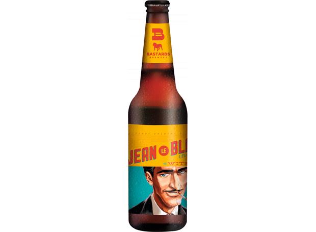 Cerveja Bastards Jean Le Blanc (Foto: Divulgação)