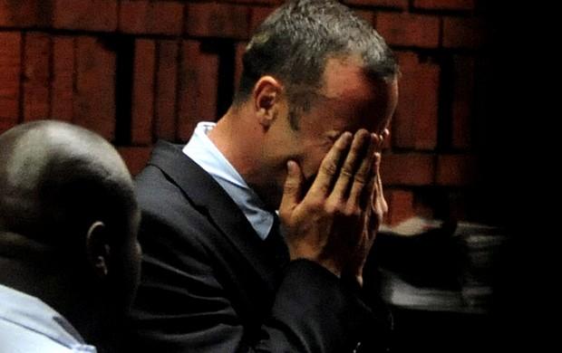 Oscar pistorius julgamento Pretoria (Foto: Agência Reuters)
