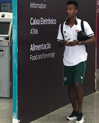 Orejuela, Fluminense (Foto: Caio Filho)