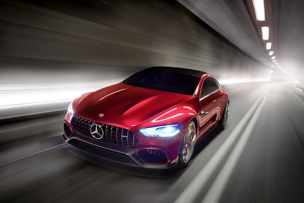 Mercedes-Benz apresenta AMG GT conceito no Salão de Genebra