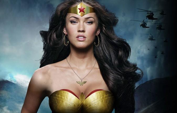 Megan Fox como Mulher Maravilha (Foto: Divulgao)