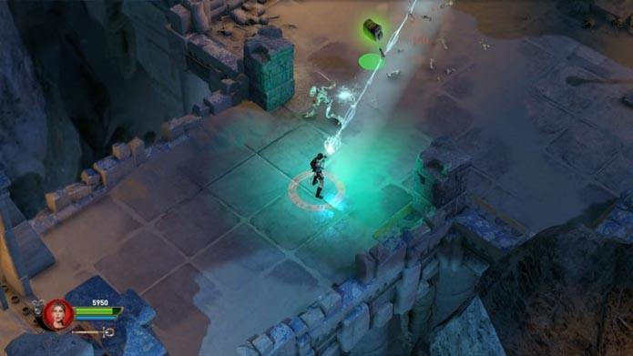 Lara Croft and the Temple of Osiris: dicas para mandar bem no game (Foto: Reprodução/Murilo Molina)