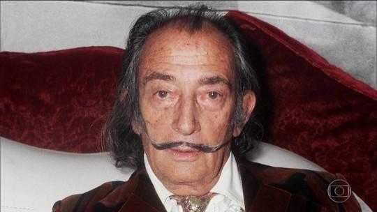 Corpo de Salvador Dalí é exumado após batalha na Justiça da Espanha