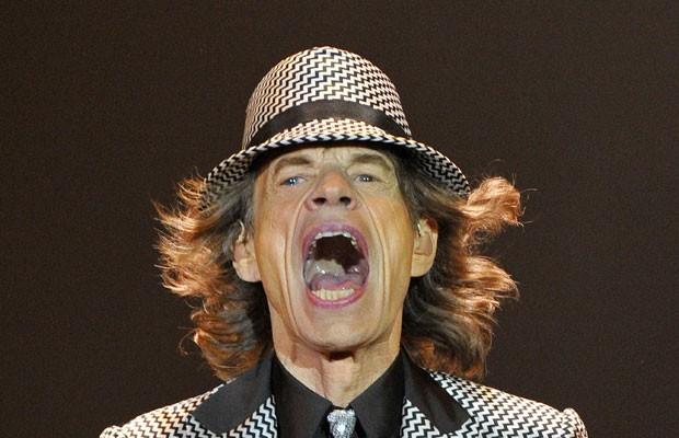Rolling Stones se apresentam em Londres  (Foto: Reuters)