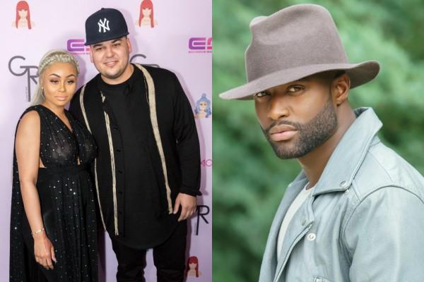 Blac Chyna, Rob Kardashian e Pilot Jones (Foto: Getty Images/Reprodução Instagram)