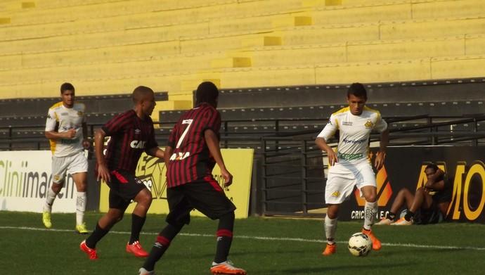 Edy Criciúma x Atlético-PR sub-20 (Foto:  Douglas Sartor/Criciuma EC)