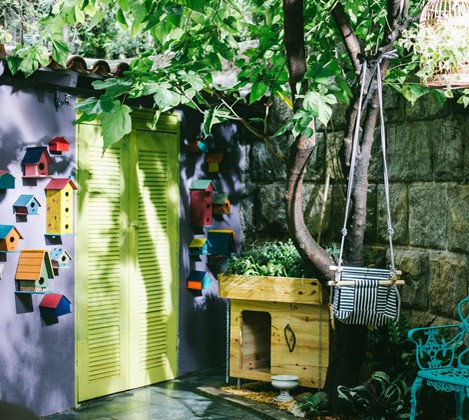 [Destaques] Mais Cor Por Favor: Veja dicas para transformar o seu quintal a partir de materiais reaproveitados
