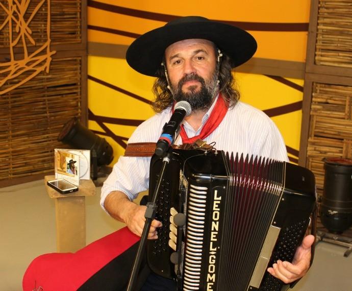 Leonel Gomez (Foto: Nice Sordi/RBS TV)