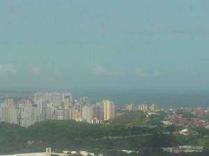 Salvador - previsão do tempo (Foto: Reprodução/ TV Bahia)