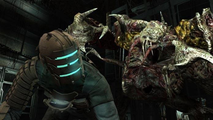 Dead Space mistura um ambiente futurista pós-apocalíptico com de seres assustadores (Foto: Divulgação)