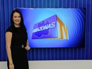 Cleo Pinheiro apresentará sozinha o Amazonas TV (Foto: Katiúscia Monteiro/ Rede Amazônica)