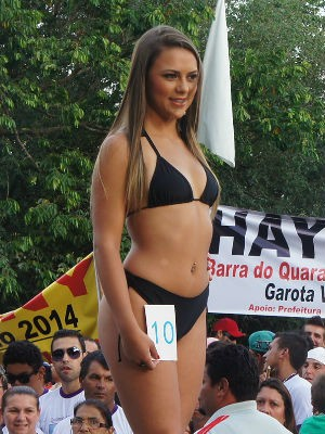 Bianca Pirolli  (Foto: Gabriela Loeblein/G1)